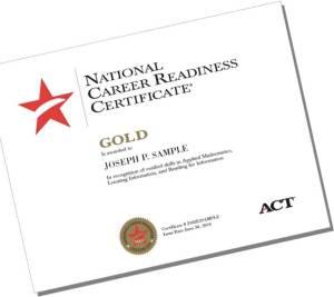 Workkeys Certificate