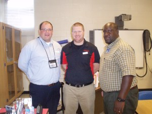 Richard Quensenberry, NADC Admissions Representative and Patrick Williams, Welding Instructor