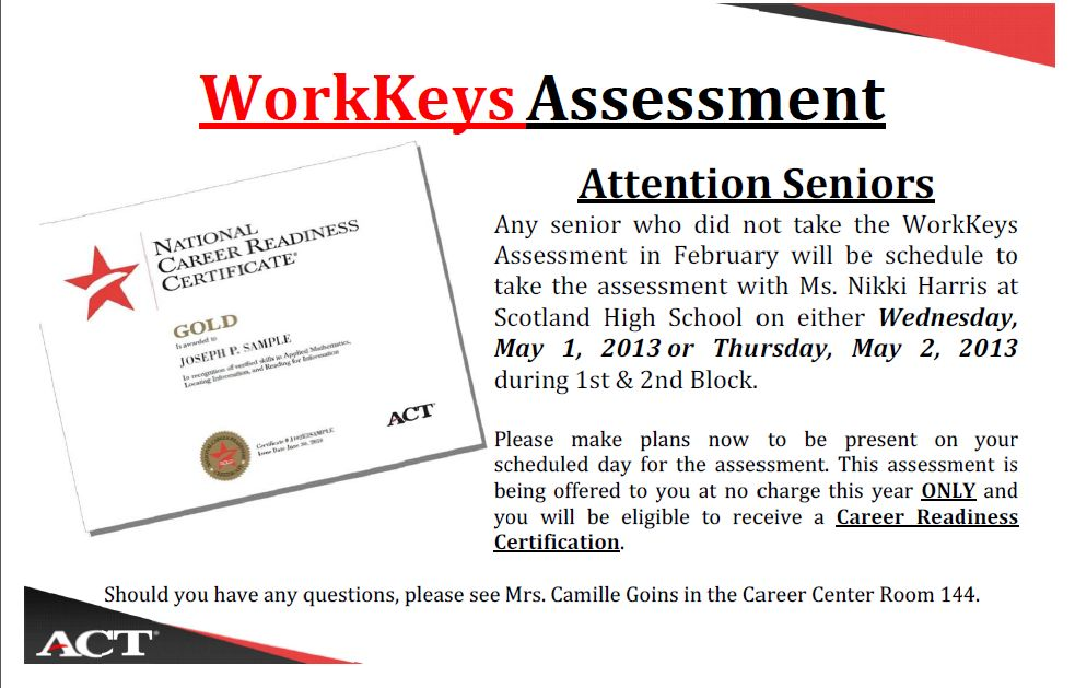 WorkKeys Assessment  